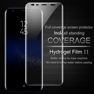 IMAK Soft Clearer Hydrogel Film II Full Cover Front Screen Protector Guard Film for Samsung Galaxy S8+ SM-G955
