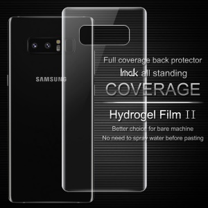 IMAK for Samsung Galaxy Note 8 SM-N950A 2Pcs Soft Hydrogel Protector Back Cover Film