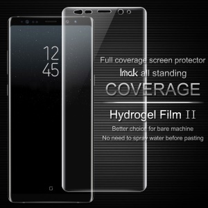 IMAK Soft Clearer Hydrogel Film II Full Cover Front Screen Protector Film for Samsung Galaxy Note 8 SM-N950