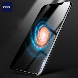 ROCK 2.5D Arc Edge 0.26mm Full Glue Tempered Glass Screen Protector for iPhone X/Xs 5.8 inch