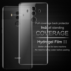 IMAK Soft Clearer Hydrogel Film II for Huawei Mate 10 Pro Full Cover Back Protector Film