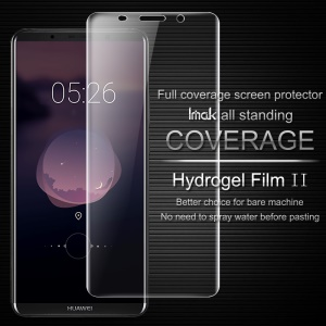 IMAK Soft Clearer Hydrogel Film II Full Size LCD Screen Protector Film for Huawei Mate 10 Pro