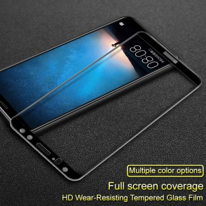 IMAK Full Coverage Tempered Glass Screen Protector for Huawei Mate 10 Lite / nova 2i / Maimang 6 - Black