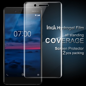 IMAK 2PCS Packing for Nokia 7 Soft Hydrogel Full Screen Protector Film