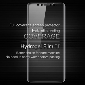 IMAK Soft Clearer Hydrogel Film II for iPhone X 5.8 inch Full Cover Front Screen Protector Guard Film