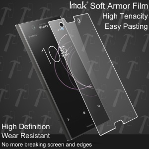 IMAK for Sony Xperia XZ1 Compact Explosion-proof Soft Armor Screen Protector Film