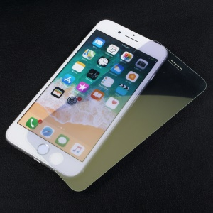 Mirror Effect Full Coverage Tempered Glass Screen Film for iPhone 8 Plus / 7 Plus - Gold