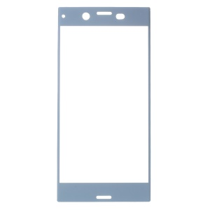 RURIHAI 0.3mm Full Tempered Glass Screen Protector Guard Film for Sony Xperia XZs - Blue
