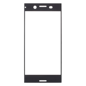RURIHAI 0.3mm Complete Covering Tempered Glass Screen Protector for Sony Xperia XZ Premium - Black