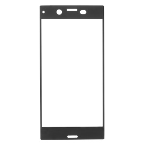 RURIHAI 0.3mm Full Cover Tempered Glass Screen Protector for Sony Xperia XZ1 - Black