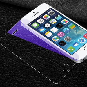 Anti-blue-ray Tempered Glass Screen Protector Guard Film for iPhone SE/5s/5