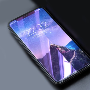 """Anti-blue-ray Explosion-proof Tempered Glass Screen Protector for iPhone 11 Pro 5.8"""" (2019) / XS / X 5.8 inch"""
