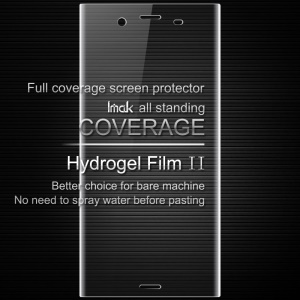 IMAK Soft Clearer Hydrogel Film II Full Cover Front Screen Protector Film for Sony Xperia XZ1