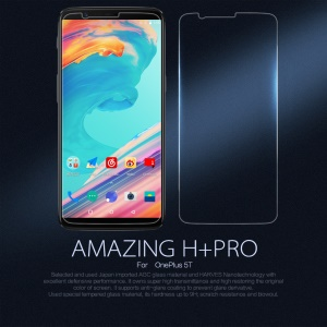 NILLKIN Amazing H+PRO for OnePlus 5T Tempered Glass Screen Protector Nanometer Anti-Explosion
