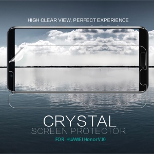 NILLKIN Anti-fingerprint Crystal Clear LCD Screen Protector for Huawei Honor V10 / View 10