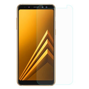 For Samsung Galaxy A8 (2018) 0.3mm Tempered Glass Screen Protector (Arc Edge)