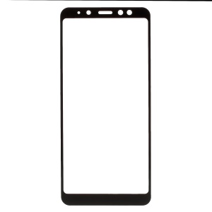 Silk Printing Tempered Glass Full Screen Covering Guard Film for Samsung Galaxy A8 Plus (2018)