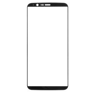 Full Coverage Tempered Glass Screen Protector Shield Film for OnePlus 5T - Black