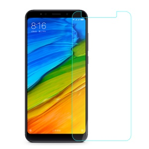 0.25mm Tempered Glass Screen Protector Shield Film for Xiaomi Redmi Note 5 (12MP Rear Camera) / Redmi 5 Plus (China) Arc Edge