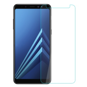 0.25mm Tempered Glass Screen Protector Film for Samsung Galaxy A8+ (2018) Arc Edge