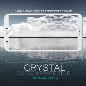 NILLKIN Anti-fingerprint Crystal Clear LCD Screen Protector Film for Huawei P Smart / Enjoy 7S