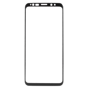 Full Size Tempered Glass Screen Protector Shield Film for Samsung Galaxy S9 G960 - Black
