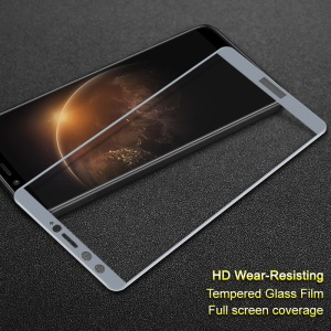 IMAK Tempered Glass Full Screen Coverage Protector Film for Huawei Honor 9 Youth Edition/Honor 9 Lite - Grey