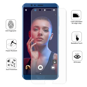 HAT PRINCE 0.1mm Full Coverage Soft Screen Protector Film for Huawei Honor V10 / View 10