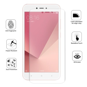 HAT PRINCE 0.1mm Full Coverage Soft Screen Protector Film for Xiaomi Redmi 5A