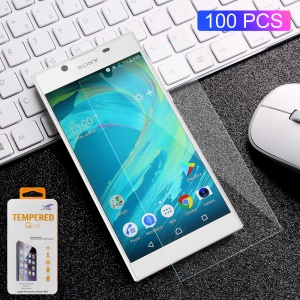 100PCS/Lot 0.3mm Tempered Glass Screen Protector Film for Sony Xperia L1 Arc Edge