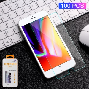 100pcs / Lot 0.3mm Film De Protection D'écran En Verre Trempé Pour Iphone 6s Plus / 6 Plus / 8 Plus / 7 Plus Le Bord De L'arc
