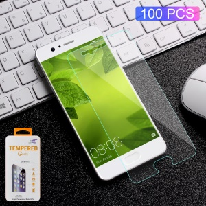 100PCS/Lot 0.3mm Tempered Glass Screen Protector Guard Film for Huawei P10 Arc Edge