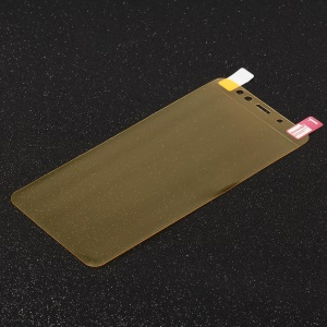 Full Coverage Anti-explosion Soft Screen Guard Film for Samsung Galaxy A8 Plus (2018)