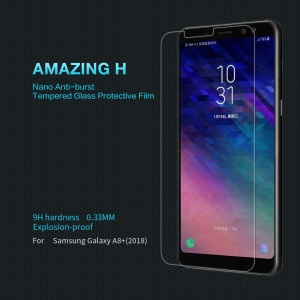 NILLKIN Amazing H for Samsung Galaxy A8+ (2018) Anti-Explosion Tempered Glass Screen Protector