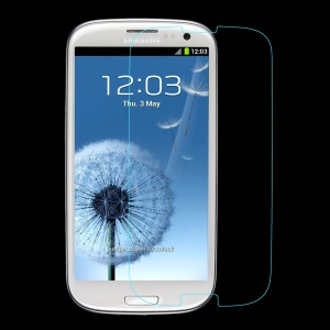 PEPKOO 0.3mm Tempered Glass Screen Protector for Samsung Galaxy S III I9300