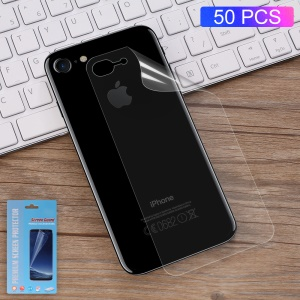 50Pcs/Set Complete Covering Soft Phone Back Protector Guard Films for iPhone 7 4.7 inch