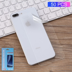 50Pcs/Set Full Coverage Soft Mobile Back Film Protector for iPhone 8 Plus 5.5 inch