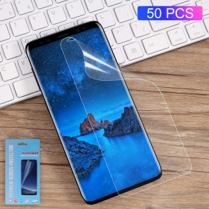 50Pcs/Set Full Coverage Soft Screen Protector Film for Samsung Galaxy S9+ G965