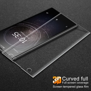 IMAK 3D Curved Full Covering Tempered Glass Screen Guard Film for Sony Xperia XA2 Ultra - Transparent