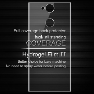 IMAK Soft Clearer Hydrogel Film II for Sony Xperia XA2 Full Coverage Back Protector Film