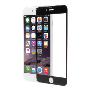 PDGD for iPhone 6 6s Full Size Tempered Glass 3D Curved Screen Film Guard - Black