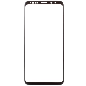RURIHAI 3D Electroplated Edge Full Tempered Glass Screen Protector for Samsung Galaxy S9 Plus - Black