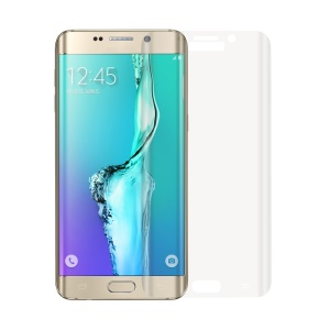 0.2mm Full Size Curved Tempered Glass Screen Guard for Samsung Galaxy S6 Edge G925 - Clear Transparent
