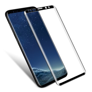 IMAK for Samsung Galaxy S9 SM-G960 3D Curved Tempered Glass Full Covering Screen Protector - Black