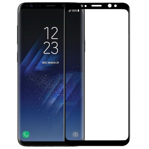 NILLKIN 3D CP+ MAX for Samsung Galaxy S9 SM-G960 Full Coverage Curved Anti-explosion Tempered Glass Film - Black