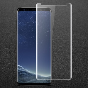 IMAK 3D Curved Full Cover Tempered Glass Screen Guard Film for Samsung Galaxy S9+ G965 - Transparent