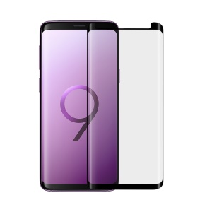 ANGIBABE 0.26mm Silk Printing Full Tempered Glass Screen Protector for Samsung Galaxy S9+ G965