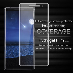 IMAK Soft Clearer Hydrogel Film II Full Cover Front Screen Protector Film for Nokia 8 Sirocco
