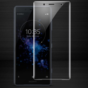 IMAK Soft Clearer Hydrogel Film II Full Cover Front Screen Protector Guard Film for Sony Xperia XZ2 Compact