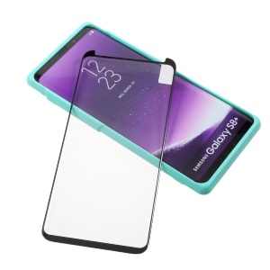 Full Screen Coverage Full Glue Tempered Glass Protector Film for Samsung Galaxy S8+ SM-G955
